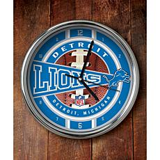 NFL Chrome Clock - Lions
