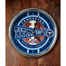 NFL Chrome Clock - Titans