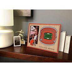 NFL Cleveland Browns 3D StadiumViews Picture Frame