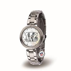 NFL Crystal Charm Watch - Cincinnati Bengals