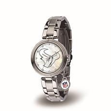 NFL Crystal Charm Watch - Houston Texas