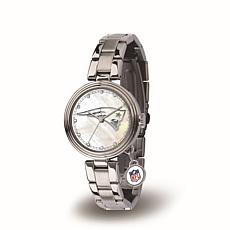 NFL Crystal Charm Watch - New England Patriots