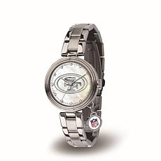 NFL Crystal Charm Watch - San Francisco 49ers