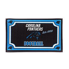 NFL Embossed Door Mat - Panthers