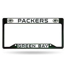 NFL Inverted Dark Green Chrome Frame - Packers