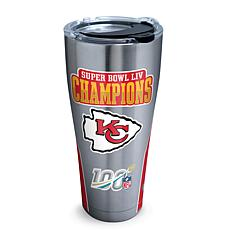NFL Kansas City Chiefs SB 54 Champs Stainless Steel Tumbler w/ lid