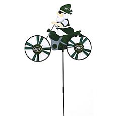 NFL Motorcycle Wind Spinner - New York Jets