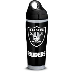 NFL Oakland Raiders Touchdown 24 oz Stainless Steel Water Bottle wi...