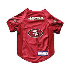NFL San Francisco 49ers Small Pet Stretch Jersey