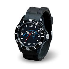 NFL Spirit Rubber Strap Watch - Carolina Panthers