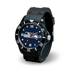 NFL Spirit Rubber Strap Watch - Seattle Seahawks