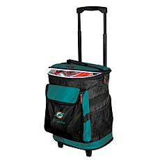 NFL Team Logo 48-Can Rolling Cooler - Miami Dolphins