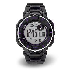 "NFL Team Logo ""Power"" Digital Sports Watch - Ravens"