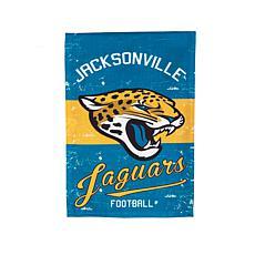NFL Vintage Linen Garden Flag - Jaguars