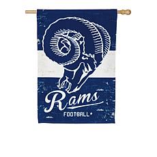 NFL Vintage Linen House Flag - Rams
