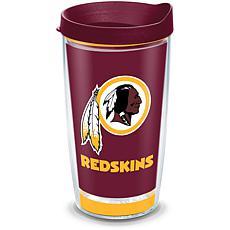 NFL Washington Redskins Touchdown 16 oz Tumbler with lid