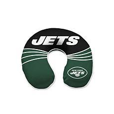 NFL Wave Memory Foam U-neck Travel Pillow - New York Jets