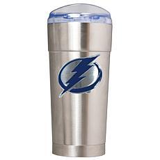 NHL 24 oz. Emblem Stainless Steel Eagle Tumbler - Lightning