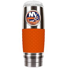 NHL 30 oz. Stainless/Orange Reserve Tumbler - Islanders
