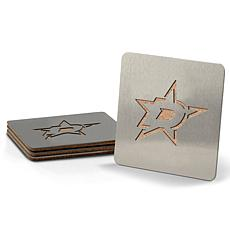 NHL Boasters 4-piece Coaster Set - Dallas Stars