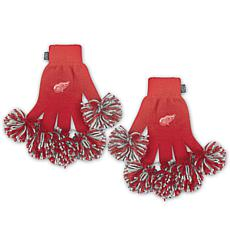 NHL Spirit Fingerz All-in-One Pom Pom Gloves