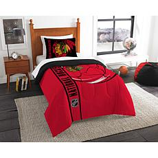 NHL Twin Comforter and Sham - Blackhawks