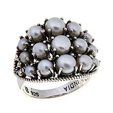 Nicky Butler Cultured Pearl East/West Dome Ring