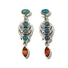 Nicky Butler Ethiopian Opal and Honey Topaz Earrings