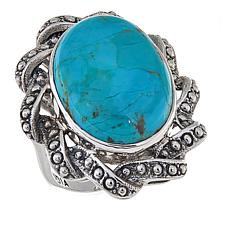 Nicky Butler Mojave Turquoise Oval Ribbon Ring