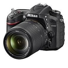 Nikon D7200 24.2MP Camera, 18-140mm Lens, 16GB Memory Card & Software