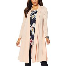 Nina Leonard Long Sleeve Duster