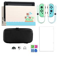 Nintendo Switch Animal Crossing Console w/Screen Protector & Case
