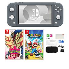 Nintendo Switch Lite with Pokemon Shield Game and Accessories