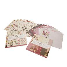 """Nitwit """"Bloom With Grace"""" 12"""" x 12"""" Paper Craft Kit"""