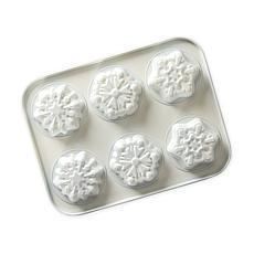 Nordic Ware Frozen II Formed Snowflake Cakelet Pan