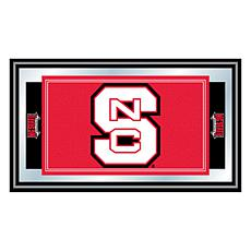 North Carolina State Logo and Mascot Framed Mirror