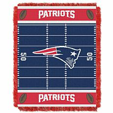 Northwest Company Officially Licensed NFL Field Baby Throw - Patriots