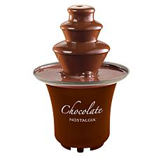 Nostalgia 3-Tier Chocolate Fondue Fountain