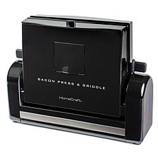 Nostalgia Bacon Press and Griddle in Black