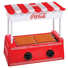 Nostalgia Coca-Cola® Hot Dog Roller and Bun Warmer