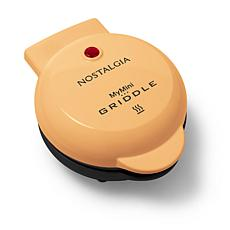 Nostalgia MyMini Personal Electric Griddle in Orange