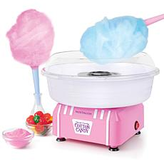 Nostalgia Retro Hard and Sugar-Free Candy Cotton Candy Maker - Pink