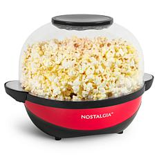 Nostalgia SP6RD 6-Quart Stirring Speed Popcorn Popper, Red