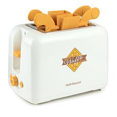 Nostalgia VWT2IVY Vertical Waffle Toaster