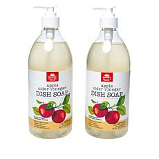 ny Valley Orchard Dish Soap 2-pack with Apple Cider Vinegar