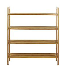 Oceanstar 4-Tier Bamboo Shoe Rack