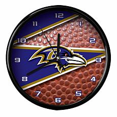 Officially Licensed Baltimore Ravens Team Football Clock
