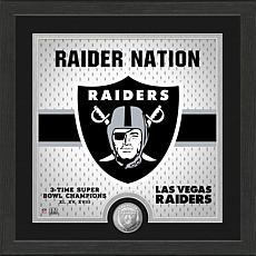 Officially Licensed Battle Cry Bronze Photo Mint - Raiders
