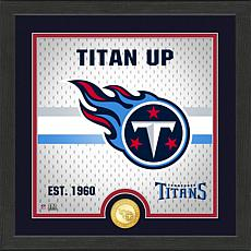 Officially Licensed Battle Cry Bronze Photo Mint - Titans