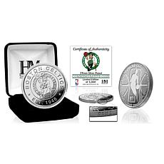 Officially Licensed Boston Celtics Silver Mint Coin